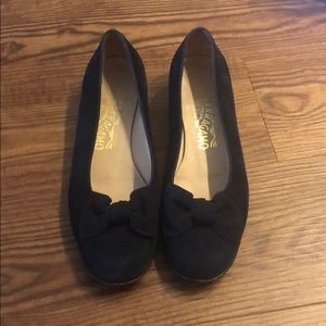 Used Salvatore ferragamo flats